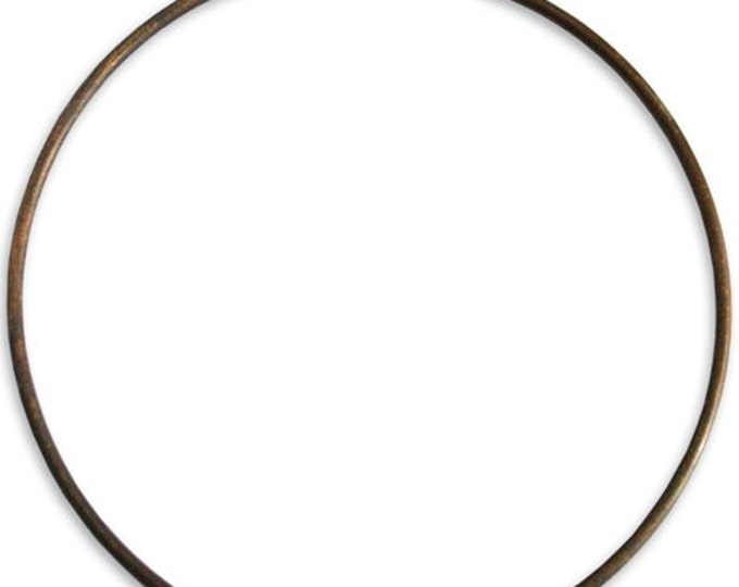 Brass Creative Hoop, 67mm Bracelet hoop, Vintaj Natural Brass H10