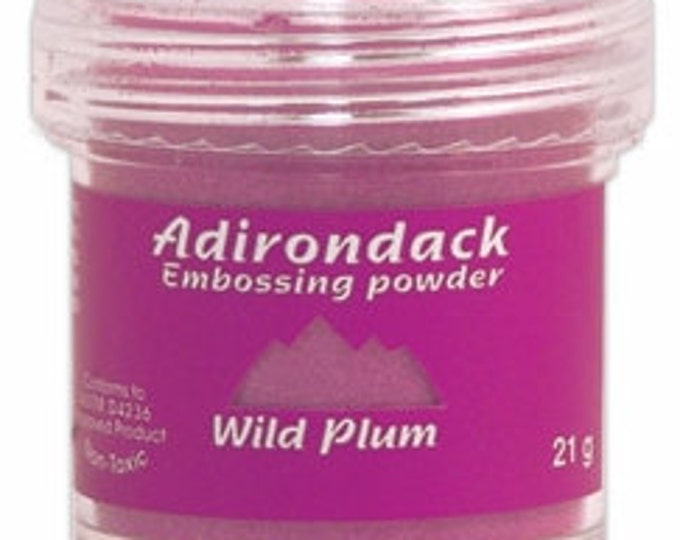 Wild Plum Embossing Powder, Adirondack Embossing Powder by Ranger, 1 oz Jar