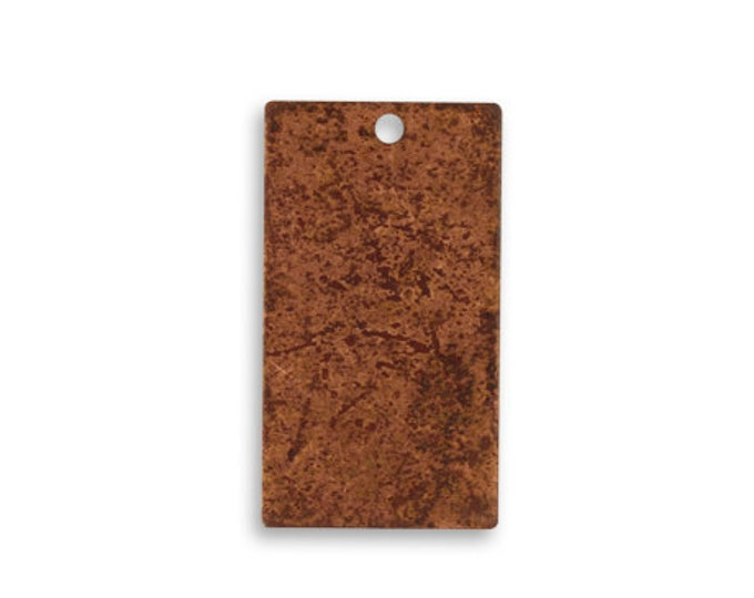 4 pieces Small COPPER Rectangle Blank, Vintaj Copper, Vintaj Item CHW0002, Size: 22.5x12.5mm, Copper Rectangle Stamping Blank