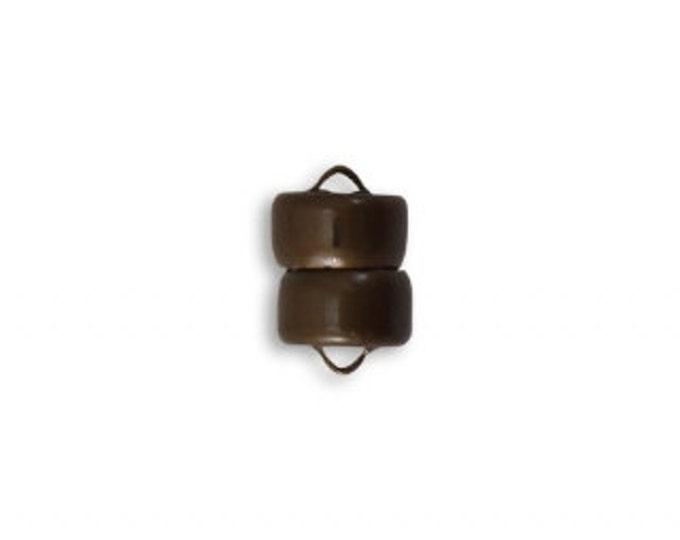 1 LOK Brass Magnetic Clasp Vintaj Natural Brass CL101