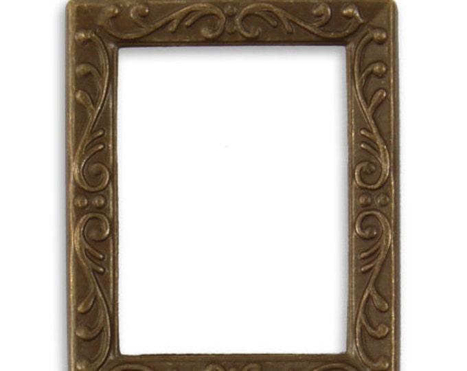 1 piece -  Alter-It Frame Set FRAME 30x24mm Vintaj Brass Item P297