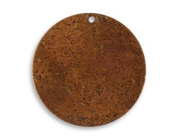 4 pieces Small Copper Circle Blank,Vintaj Copper, Vintaj Item CHW0006, Size: 25.5mm