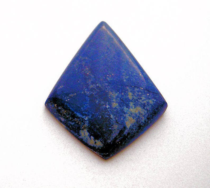 Afghanistan Natural Extra Fine Blue Lapis Lazuli Round Cabochon AAA+ Grade