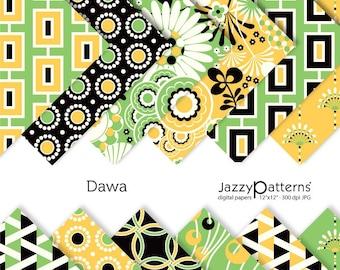 Dawa digital paper pack DP068 instant download