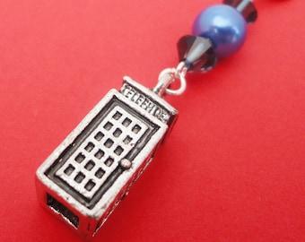 Doctor Who 'Tardis' Bag Charm (Keychain)
