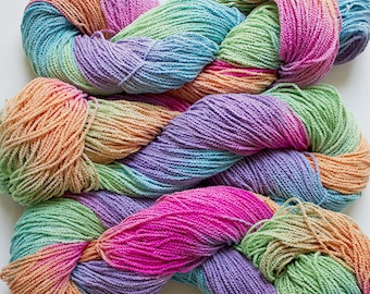 Little Cable, hand painted, cotton, 225 yds - Fiesta