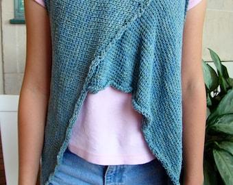 Pattern - Tunisian Crochet Trapezoid Wrap