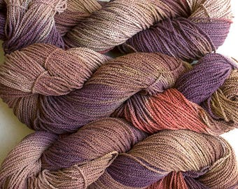 Little Cable, hand painted, cotton, 225 yds - Pheasant