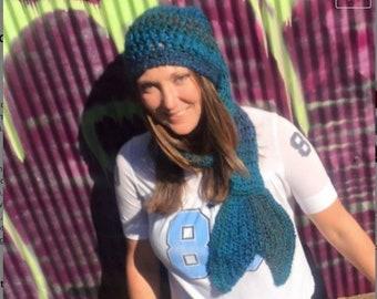 Pattern - Merboggan Crochet Pattern