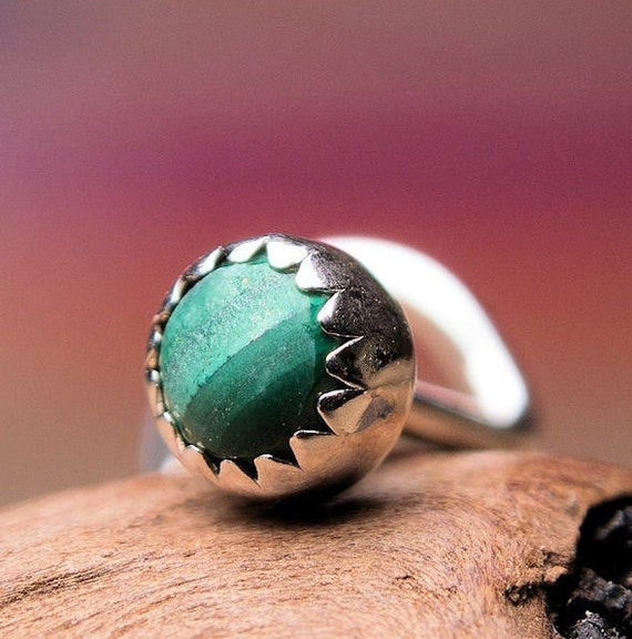 CUSTOMIZE Nose Stud  Nose Screw  3mm Aventurine in Sterling Silver Serrated Bezel