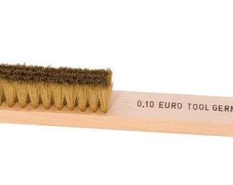 Soft Bristle Brass Hand Brush