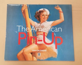 1999 The American Pin-up Calendar in English, French and German