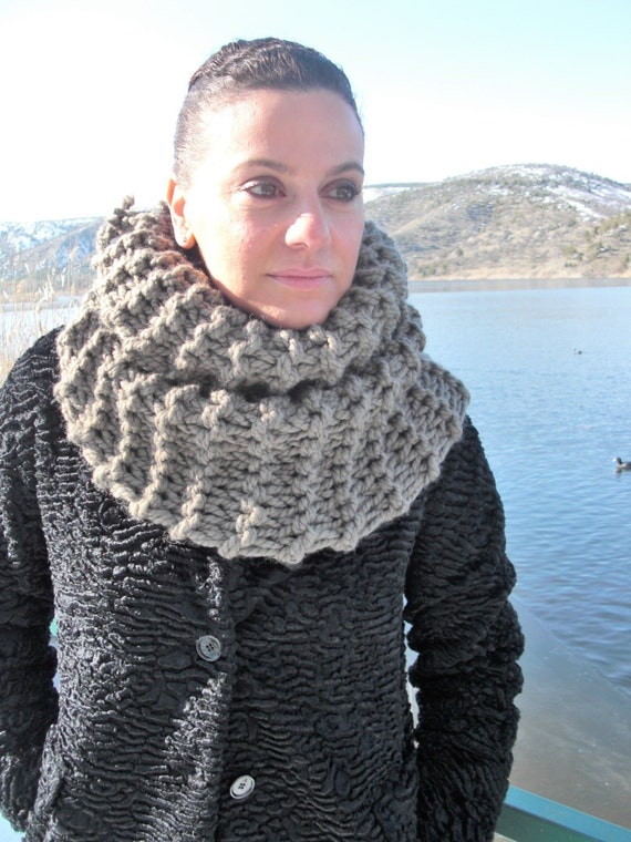 Kutte Schal Muster klobige Kutte Schal stricken Muster | Etsy