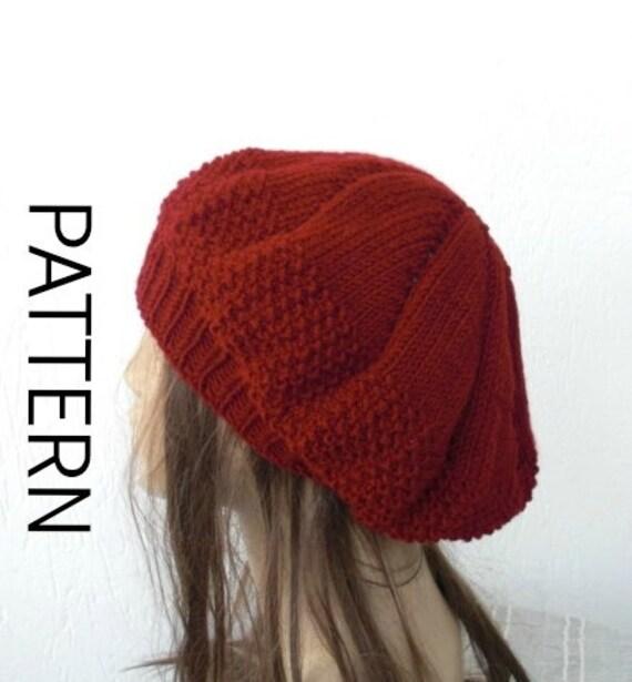 Instant Download Knit hat pattern DIY Digital Hat Knitting  4664d7e3147