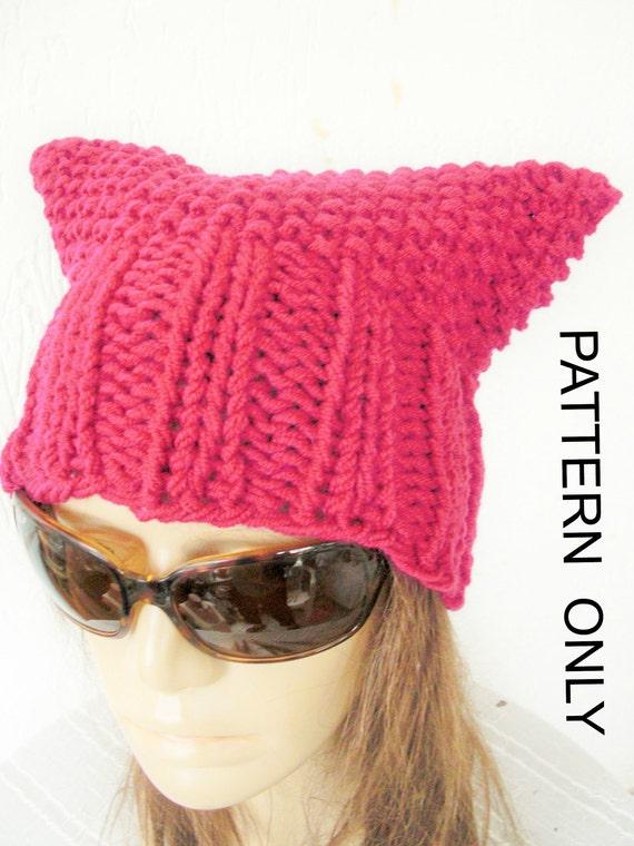 DIY Geschenk Katze stricken Hut Muster für Frauen Pussy Pussy | Etsy