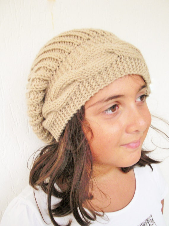 Mom Me Instant Download Knitting Pattern Hat 3 Sizes Girl Etsy