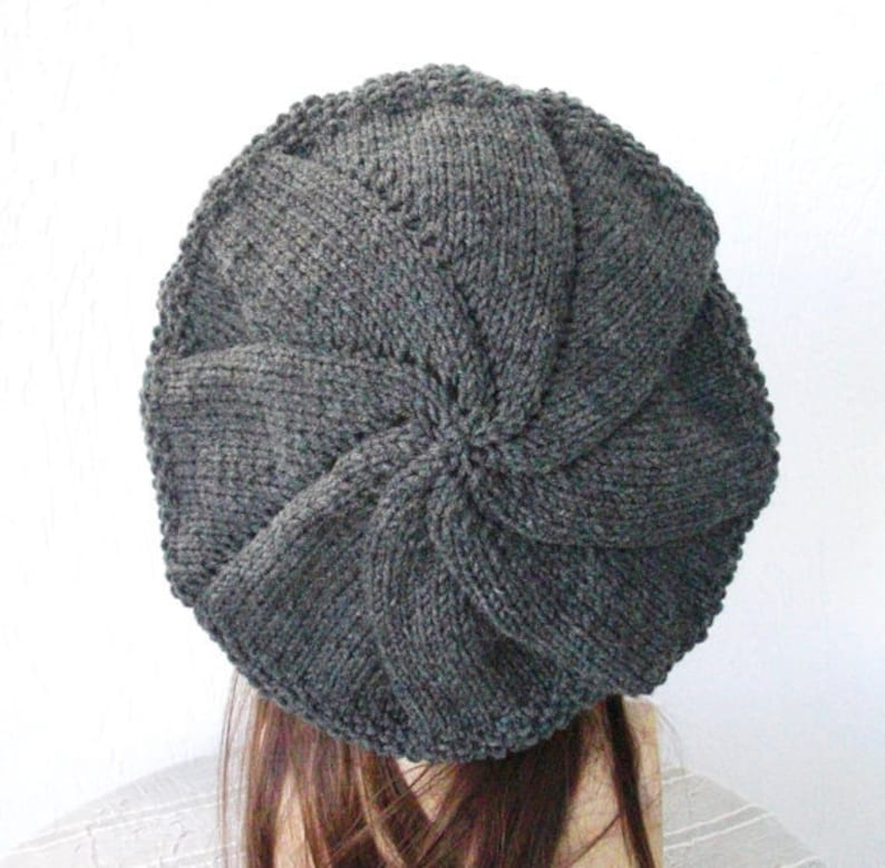Beret Knitting Pattern Instant download Knitting Pattern ...
