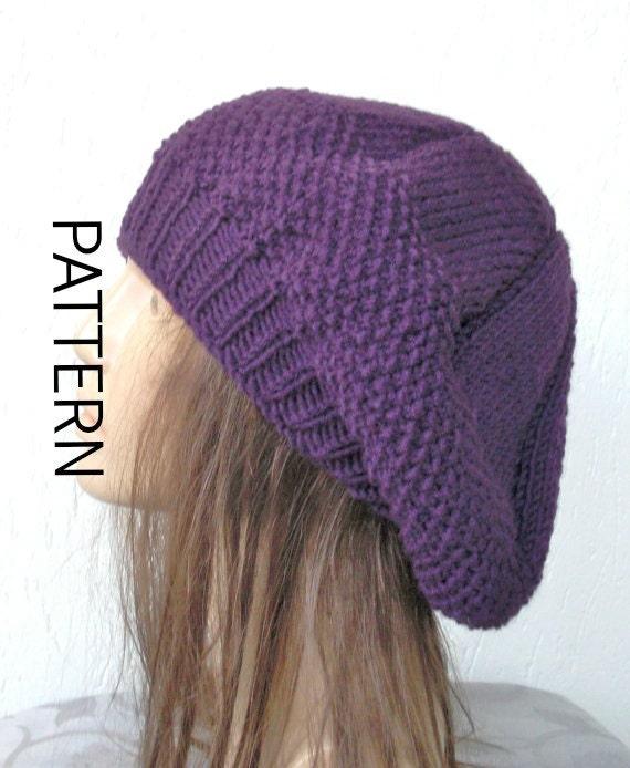 Baskenmütze Strickmuster Frauen Instant Download Hut Muster | Etsy