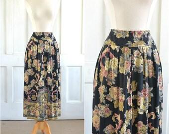 90s Mini Skirt 90s Aesthetic 90s geometric print fall colors box pleat mini skirt VSCO Girl 27 inch waist Abstract Print Depop Fashion