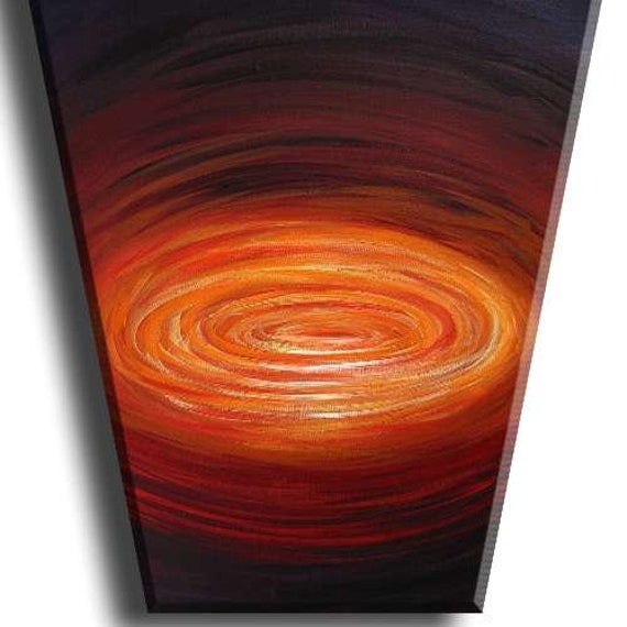 YINART galaxy sky stars sun moon night universe planets abstract art painting