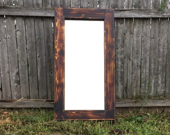 Rustic Medicine Cabinet - Bathroom Vanity Mirror - Chest - Decor