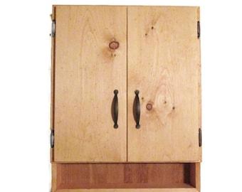 Rustic Furniture - Wood Medicine Cabinet - Bathroom Decor - Office
