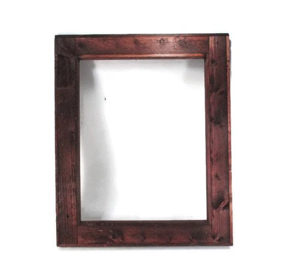 large rustic picture frame 16 x 20 for photos or art prints. Black Bedroom Furniture Sets. Home Design Ideas
