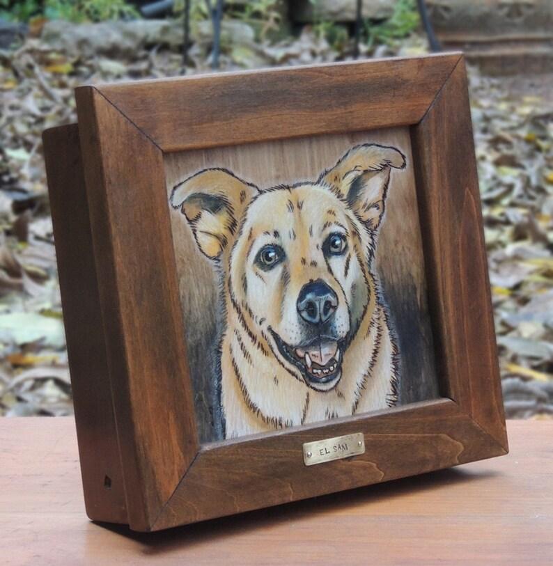 Dog Portrait Keepsake Box image 0