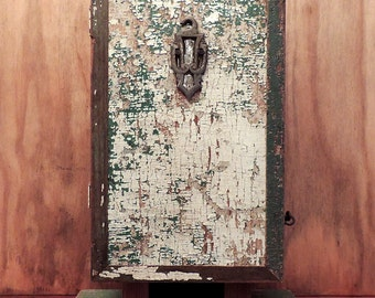Distressed Standing Cabinet