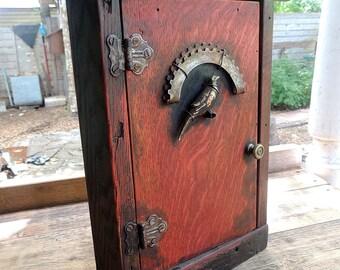 Reclaimed Oak Spice Rack Cabinet