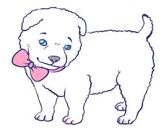 Custom cartoon of your pet