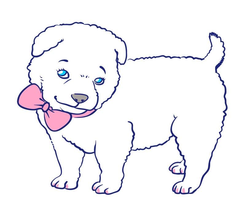 Custom cartoon of your pet image 0