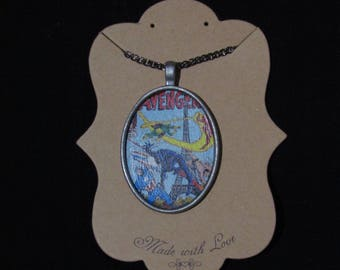 Avengers Cover Necklace