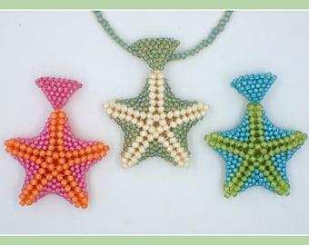 Starfish Pendant PDF Jewelry Making Tutorial (INSTANT DOWNLOAD)