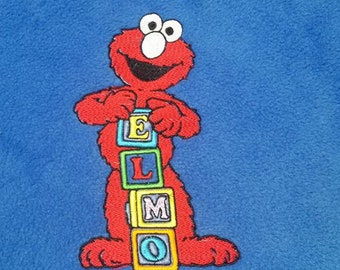 Elmo Sesame Street Personalized Blanket dc0ff7003