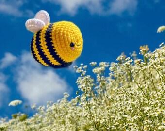 Big Bee/Amigurumi Bumblebee/Crochet Chubb-Bee -Bee Plush/Toy/Tik Tok Bee/Chonky Bee/Bridgerton Bee Buddy