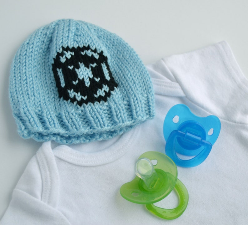 3ff06e4a5 Imperial Space Wars Baby Beanie Hat, newborn - 3 months - Great Baby Shower  Gift or Infant Photo Prop