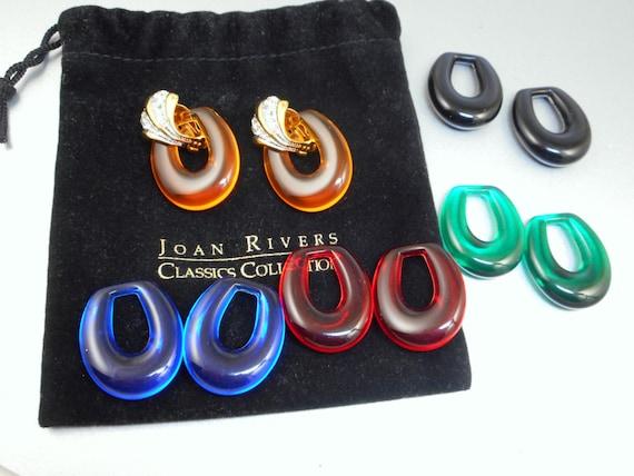 Joan Rivers Earrings Set - image 1