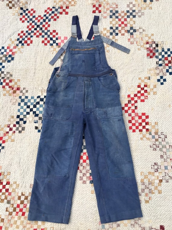 1940s French Moleskin Overalls Le Mont St Michel 3