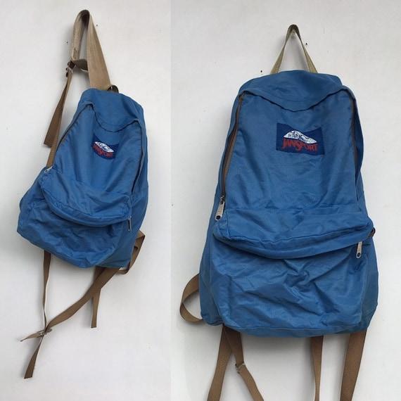 1970s | 80s Jansport Blue Backpack