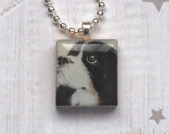 Cavalier King Charles Spaniel Scrabble Necklace, Handmade Dog Scrabble Tile Pendant, Dog Art, Dog Lover Gift, INDIANA JONES the Cavalier