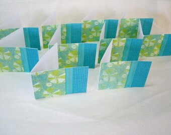7385: Set of 10, Mini Note Cards