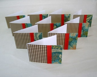 7386:Set of 10, Mini Note Cards