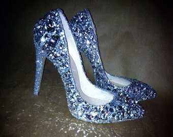 a98d9d88429 Jeweled sparkly heels! Any height or style!