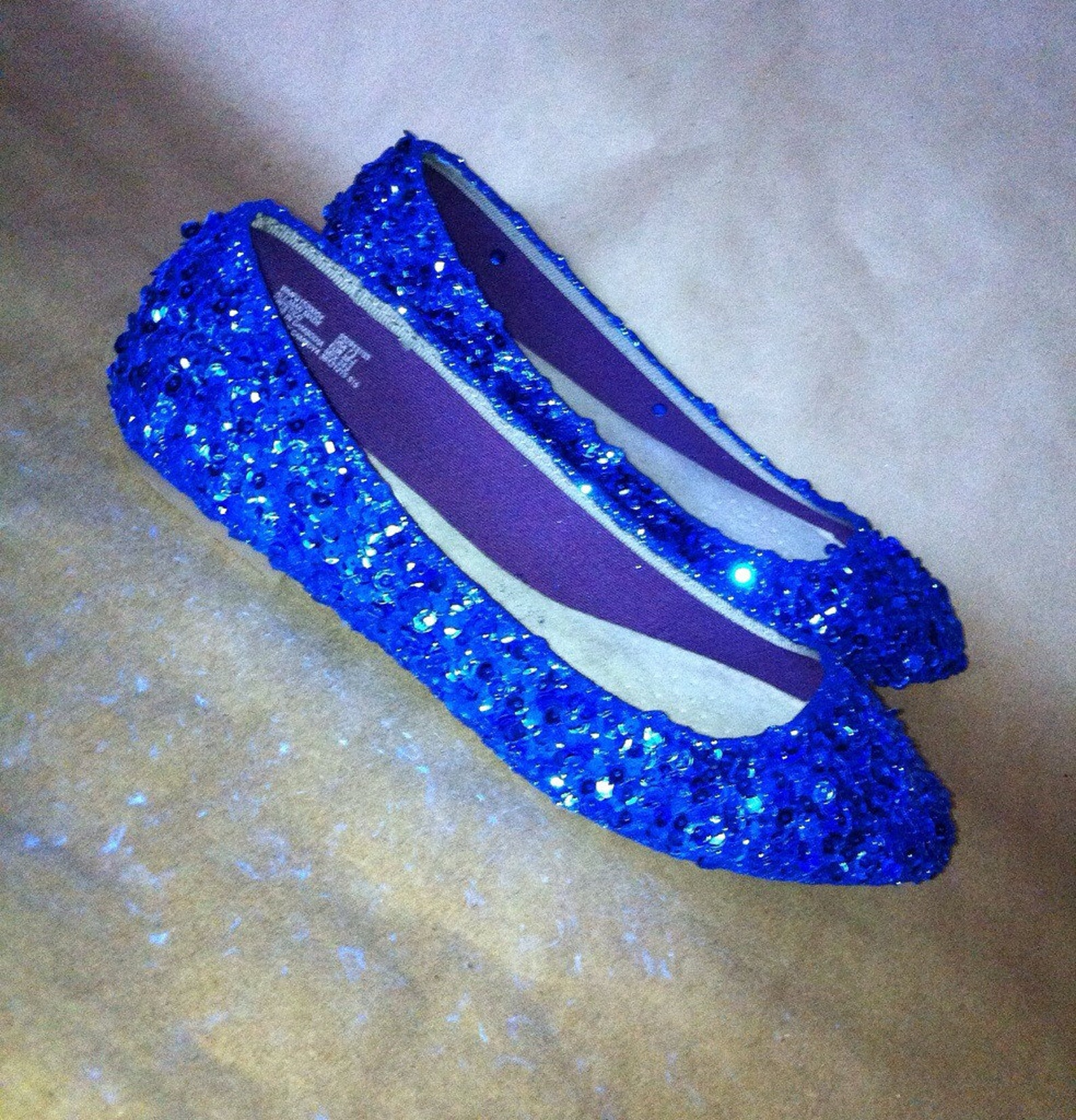 sequined and glitter flats for party or wedding. something blue wedding shoes or party ballet flats sequined sparkled shoes