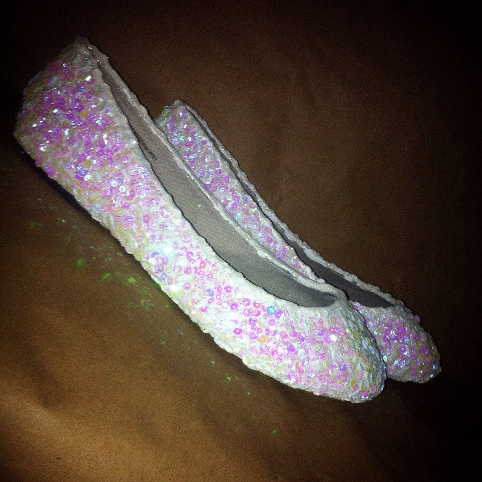 sequined and glitter flats for party or wedding. something new wedding shoes or party ballet flats sequined sparkled shoes