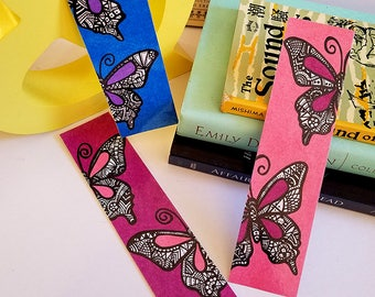 Bookmarks ~ Butterfly