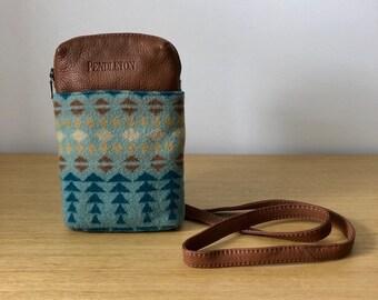 vintage cross body pendleton purse 437d2950a45d8