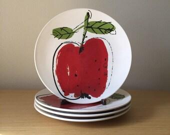 vera for mikasa forbbiden fruit dinner plates
