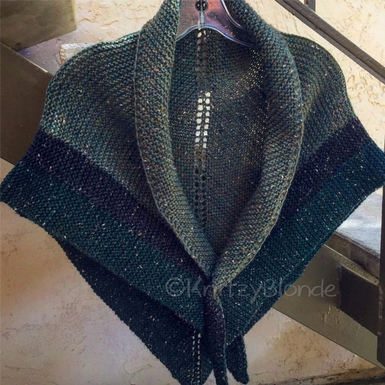Claire Outlander Rent Shawl Triangle Tweed Highlands Wool 4 image 0